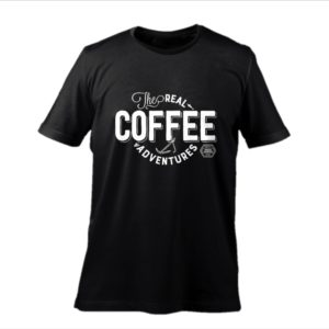 "Tshirt BURACA ""The Real Coffee Adventures"""