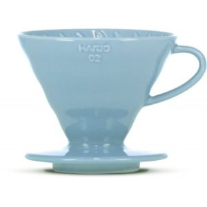 HARIO V60 02 CERAMIC DRIPPER LIGHT BLUE