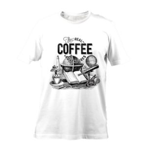 "Tshirt BURACA ""The Real Coffee Adventures II"""